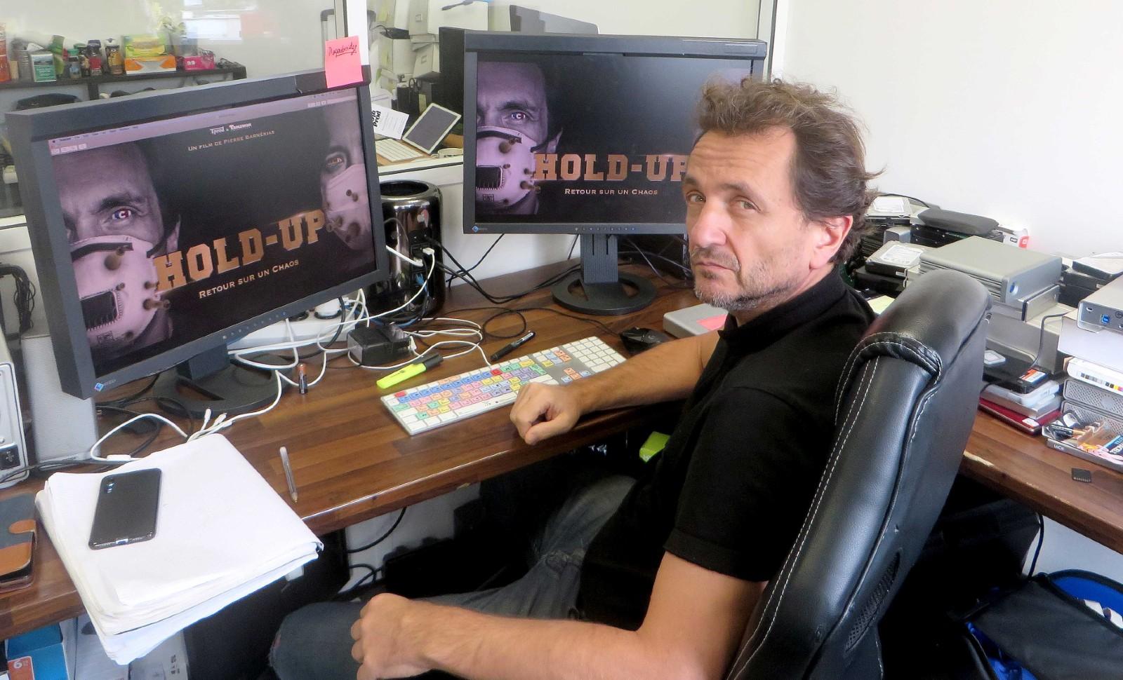 """Pierre Barnerias, realisateur du film """"HOLD UP"""" © AUDEBERT DIDIER/SIPA Numéro de reportage : 00991347_000001"""