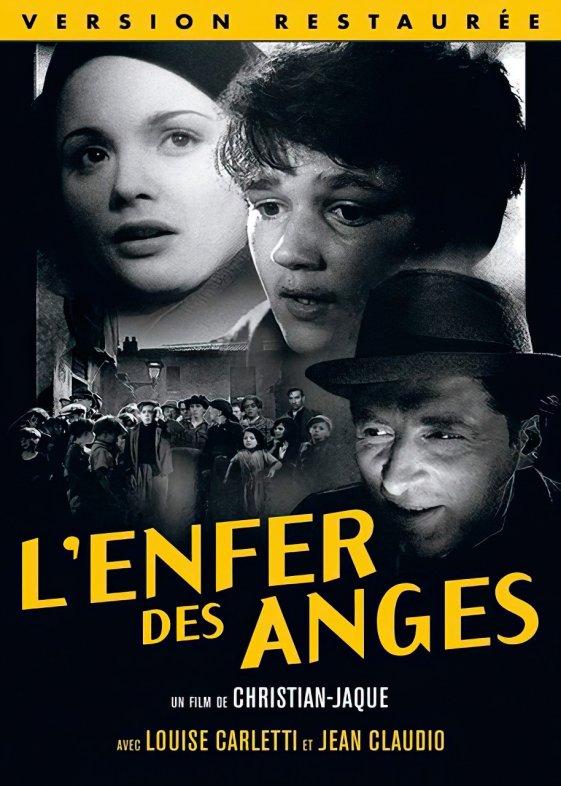 """Couverture du film """"L'enfer des anges"""", éditée par Pathé.©Pathé"""