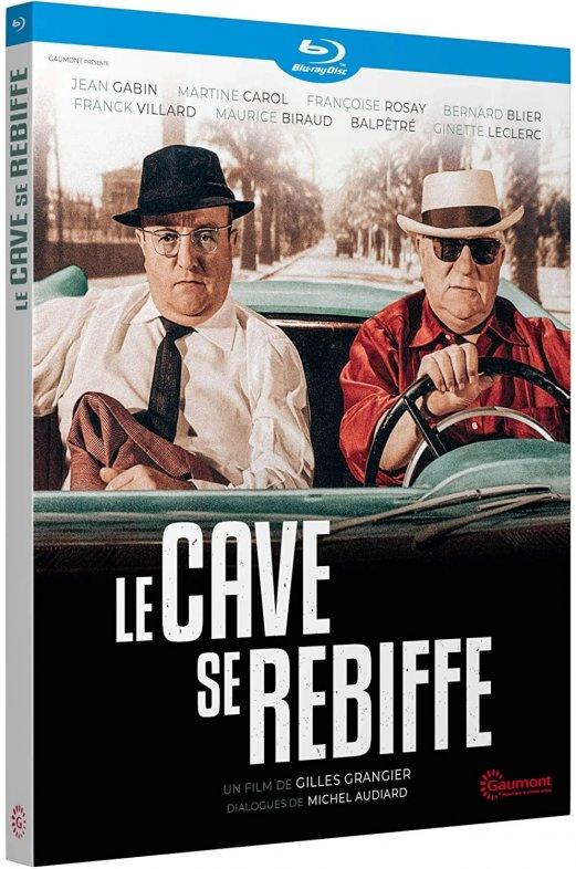 """Pochette du film """"Le cave se rebiffe"""".©Gaumont"""