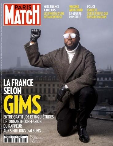 Une de Paris Match du 17 décembre 2020.© D.R