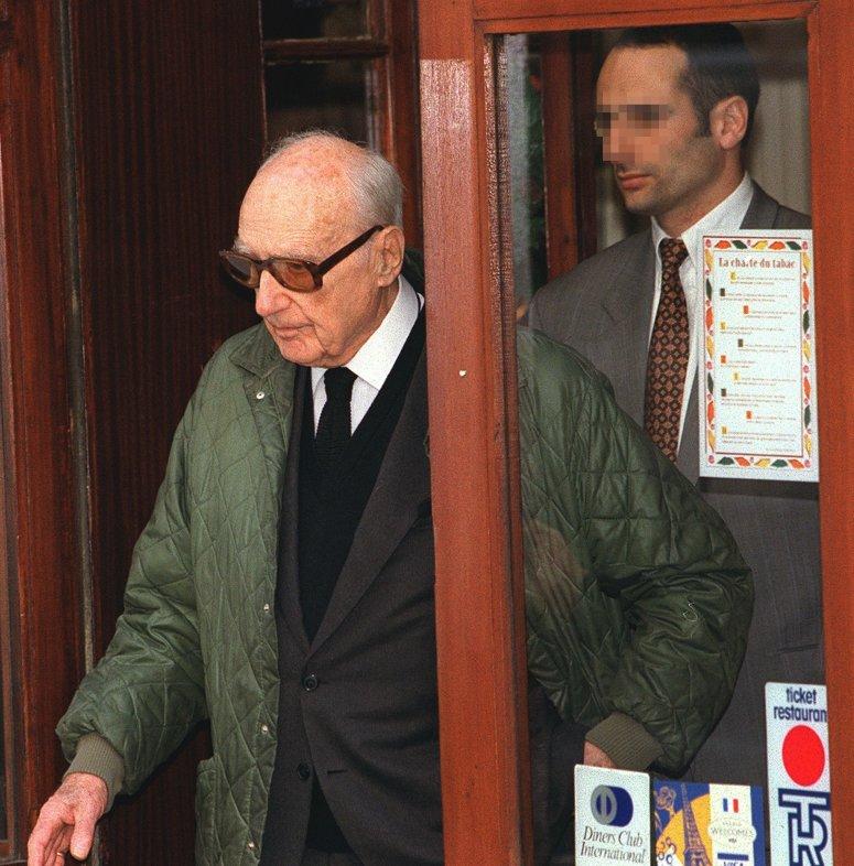 Procès de Maurice Papon, cour d'assises de la Gironde, 31 mars 1998. © Derrick Ceyrac/AFP