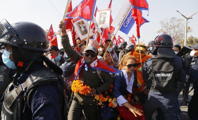 Au Népal, on rêve du retour de la monarchie