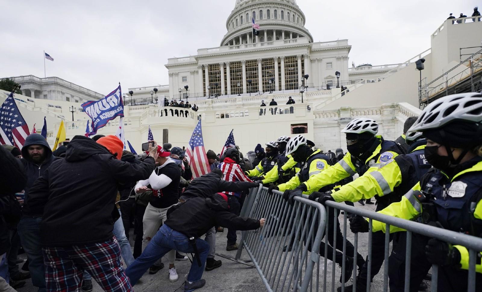 Washington, le 6 janvier 2020 © Julio Cortez/AP/SIPA Numéro de reportage: AP22527680_000006