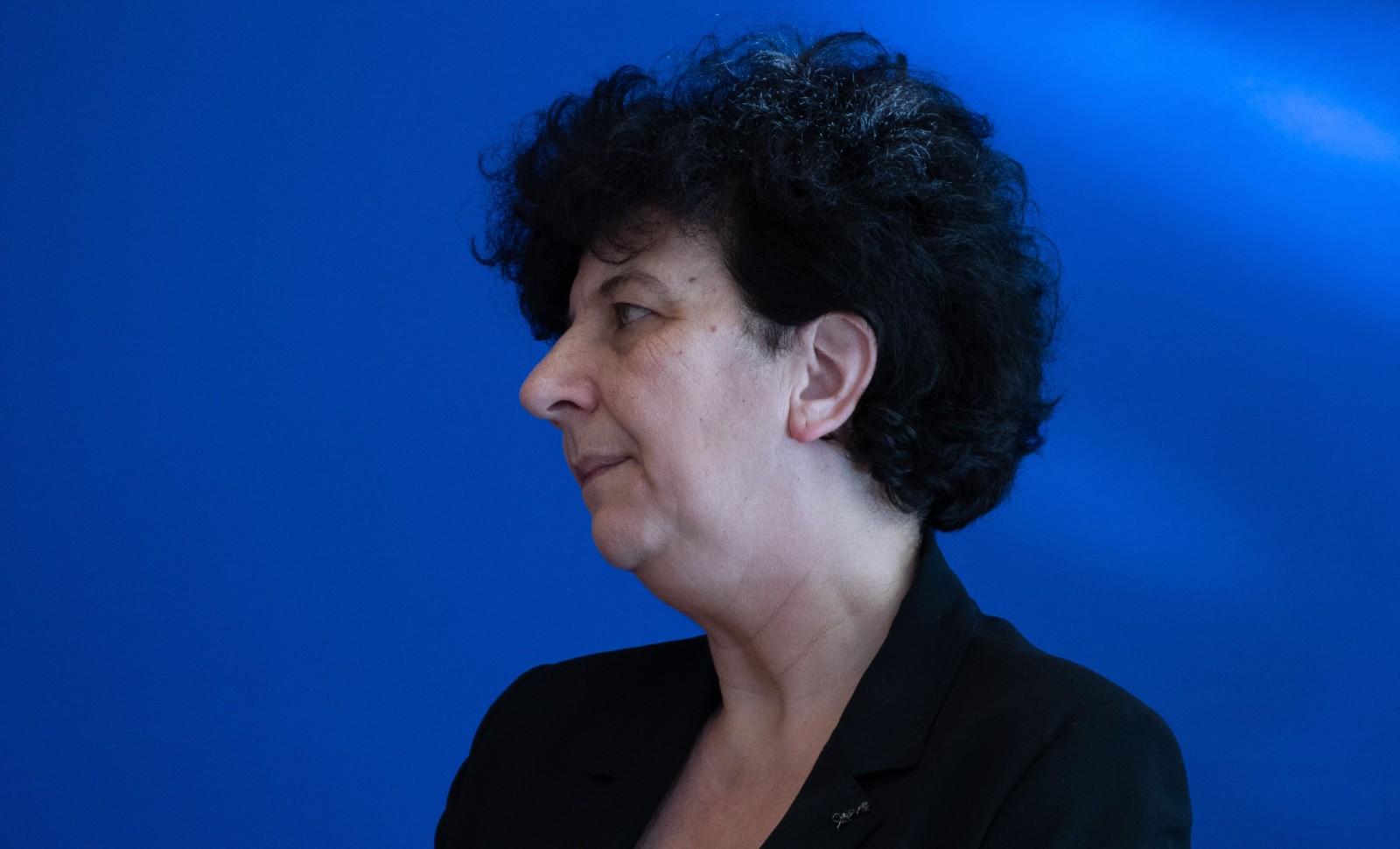 La ministre Frédérique Vidal a eu le courage de parler de l'islamo-gauchisme qui gangrène l'université française. Elle est depuis la cible des attaques de la gauche radicale et d'une partie de la presse française © MAXIME BIHOREAU/SIPA Numéro de reportage: 00944089_000018