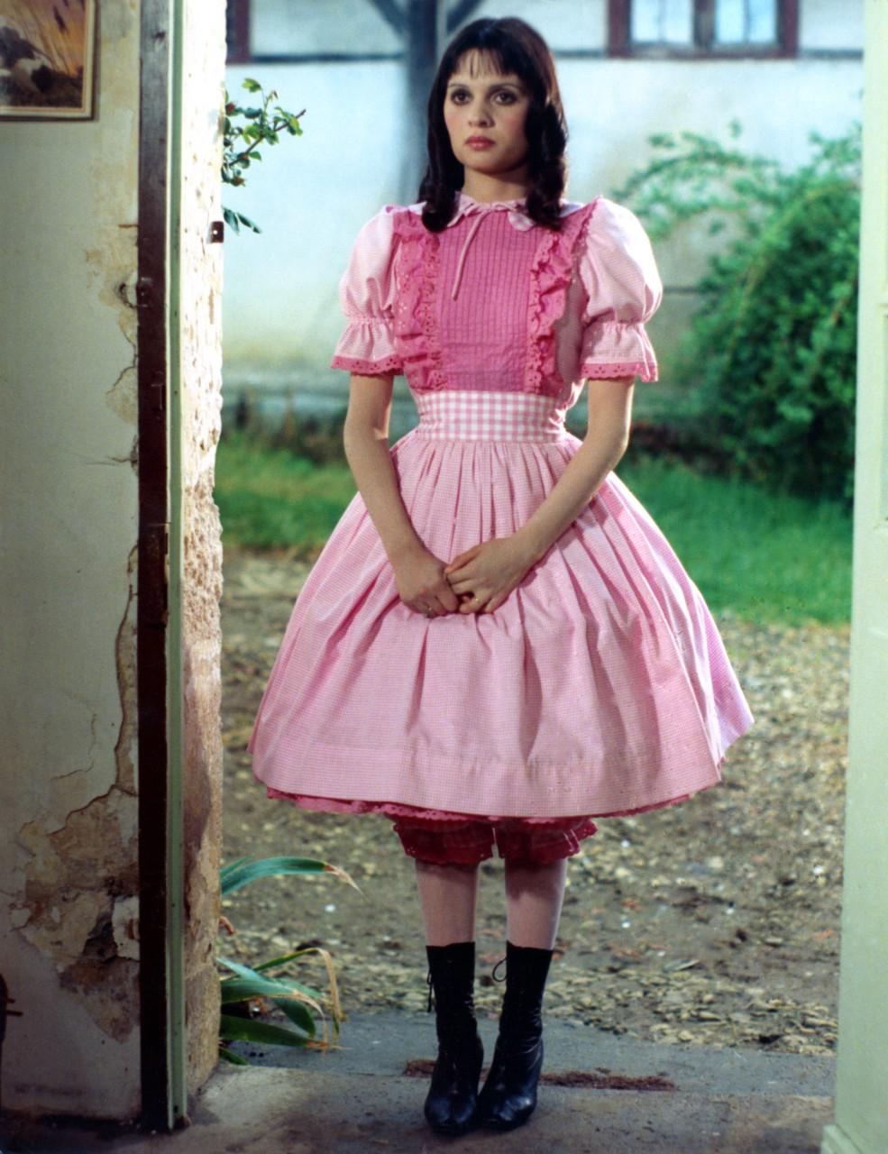 Jeanne Goupil, dans le film de Joël Séria, Marie-poupée (1976). © Georges Pierre/Bridgeman images