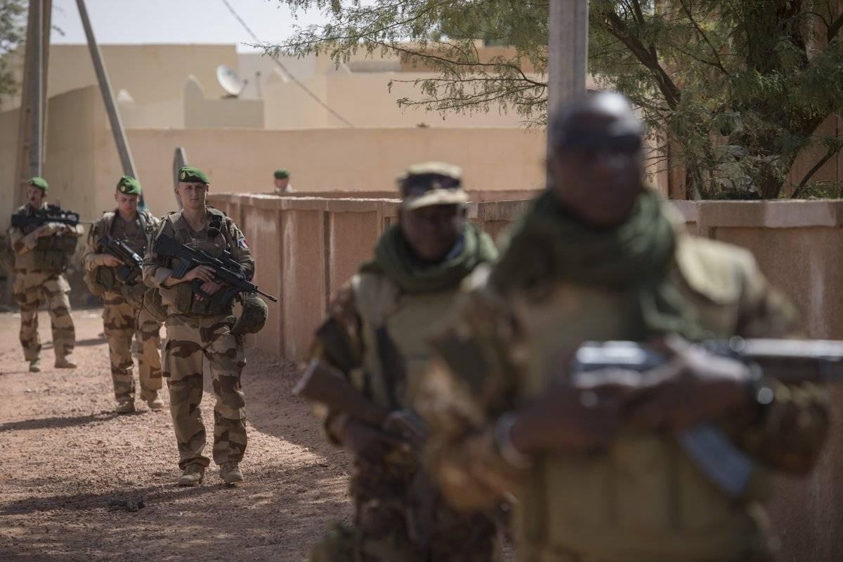 Opération Barkhane au Mali, février 2018 : la Légion déployée en opération. ©Légion étrangère