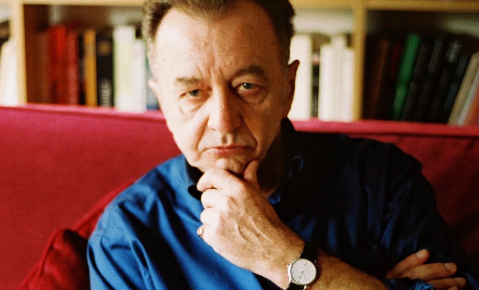 L'écrivain Philippe Muray. Photo: Hannah Assouline.