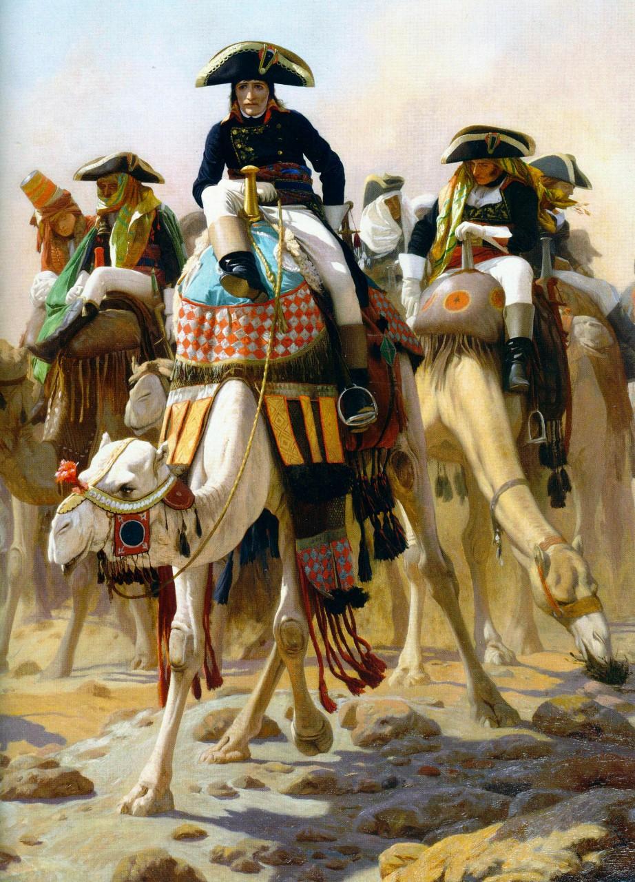 Bonaparte et son état-major en Égypte, Jean-Léon Gérôme, 1863 © Wikimedia Commons