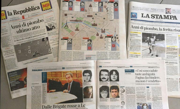 Brigadistes italiens arrêtés sur ordre de Macron: une basse, très basse manœuvre électoraliste!