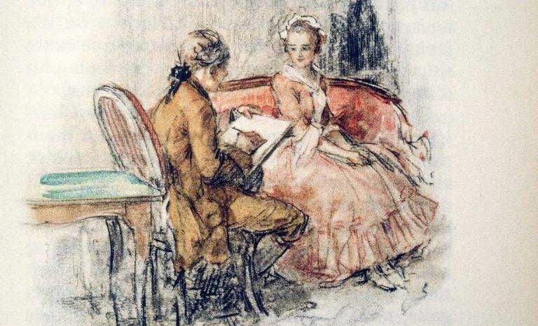 Goethe, les garçons et les filles