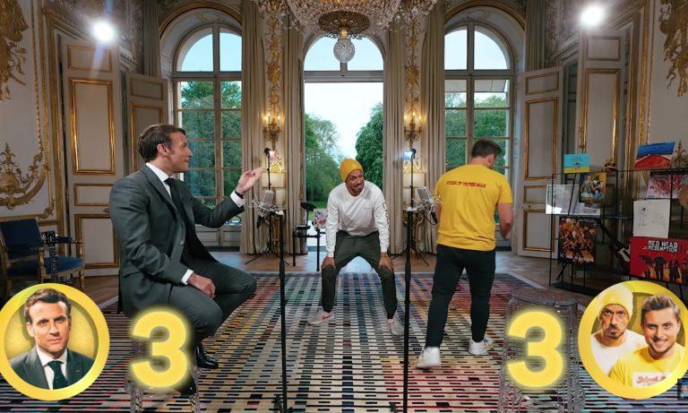 McFly et Carlito publient la vidéo du concours d'anecdotes avec Macron