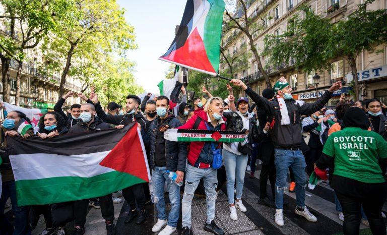 Le syndicat étudiant de gauche FSE exhibe le logo d'une organisation terroriste sur son affiche pro-Palestine