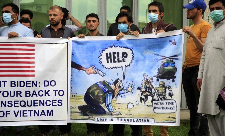 N'oublions pas les interprètes afghans!