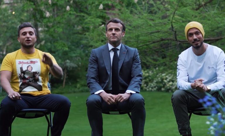 Macron, le prof «copain»