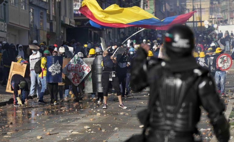 """""""Les blocages se sont étendus à toute la Colombie"""""""