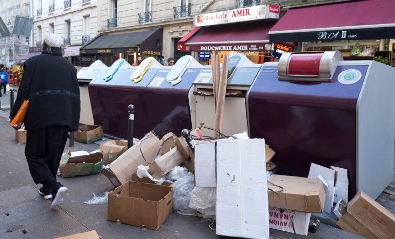 Paris, la poubelle ville du monde