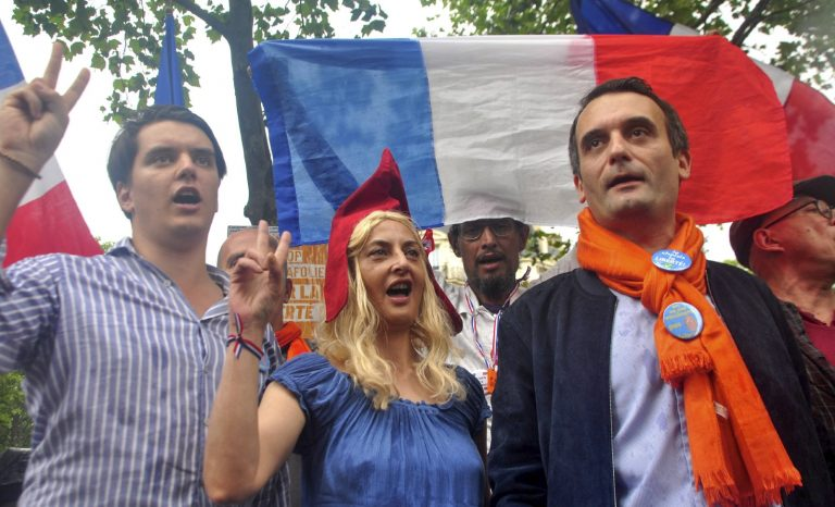 Philippot, candidat antisystème (sanitaire)