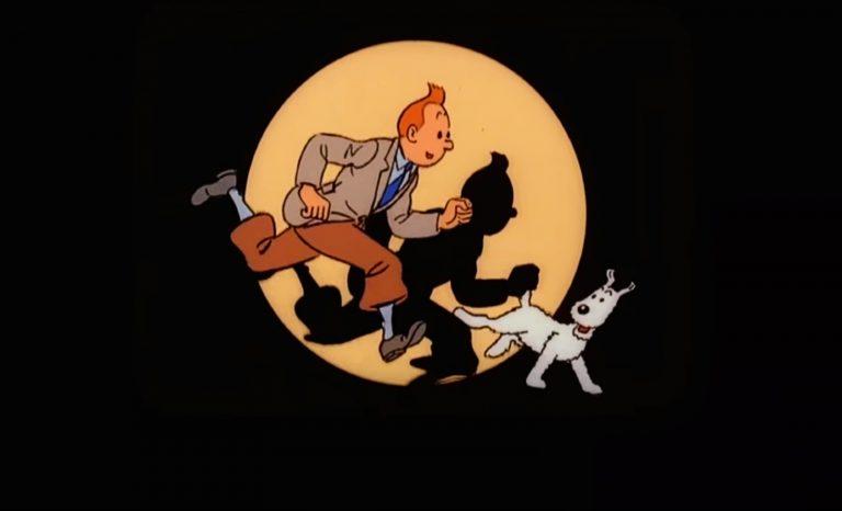 Tu voulais lire cette bédé, gamin? Tintin!